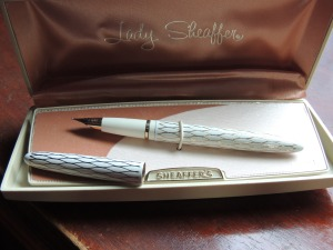 Lady Sheaffer White Tulle
